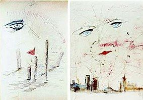 The Great Gatsby cover art drafts