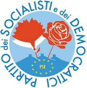 Partito dei Socialisti e dei Democratici logo.PNG