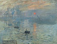 painting of a sunrise over a seascape