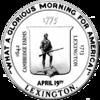 Official seal of Lexington, Massachusetts