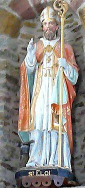 Statue of St. Eligius
