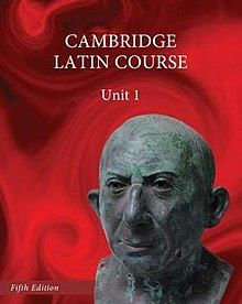 Cover of Cambridge Latin Course Unit 1, 5th Edition.jpg