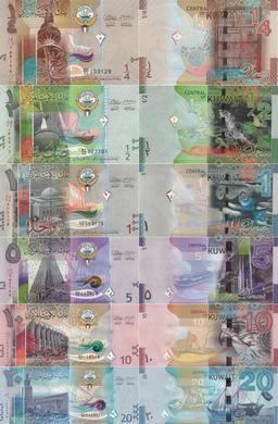 科威特在2014年开始使用的纸币系列。