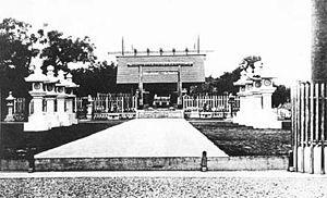 日治时期的台南神社