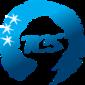 三国合作秘书处徽标