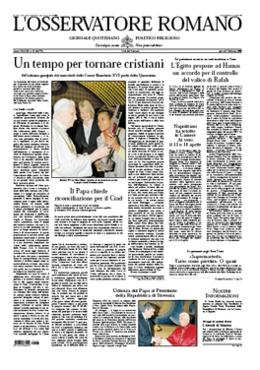 LOsservatore Romano Cover (7 February).png