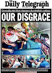 Daily Telegraph front page 12-12-2005.jpg