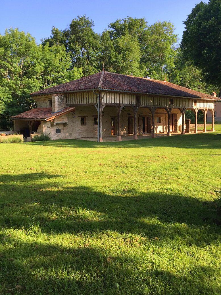 Loue Grange XVIII 8/10pers Forêt Landaise