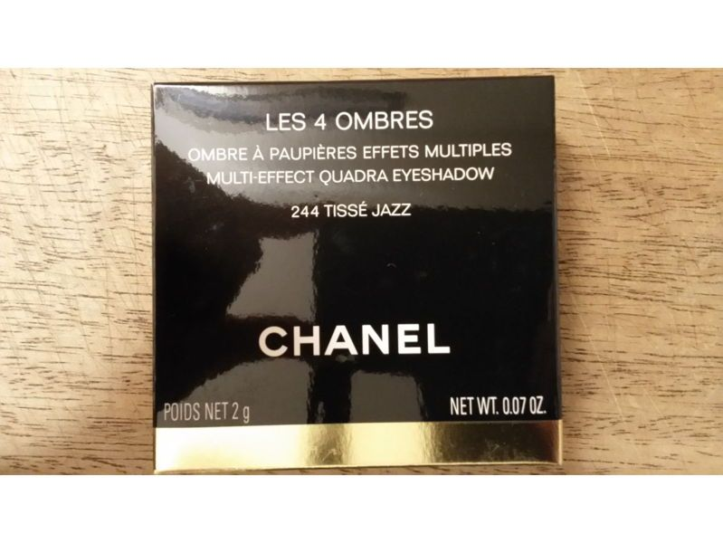 "Les 4ombres ""Tissé Jazz "" Chanel, neuf"