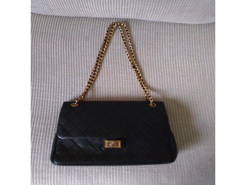 Sac habillé en chevreau - copie Chanel par artisan