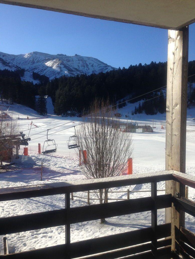 Loue appartement 4/5personnes ski - Massif central