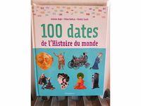 """Vends Livre """"100dates de l'Histoire du monde"""" Flammarion"""