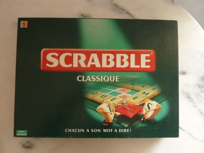 Jeu de Scrabble classique