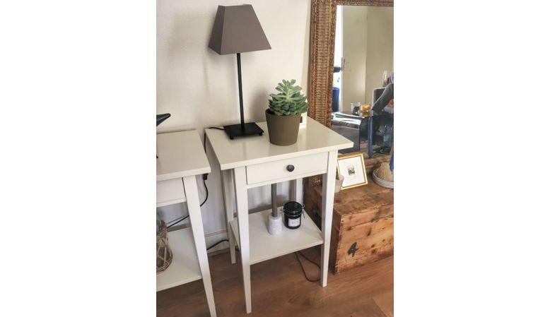 Vends tables hautes blanches - Comme Neuves