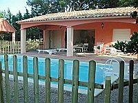 Loue 2villas 7/8p. Av piscine, 700m plage Cala Rossa, 8km Porto-Vecchio