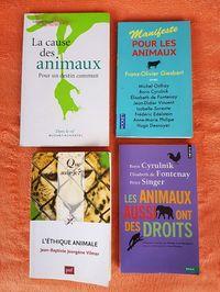 4livres philosophie/écologie sur l'Ethique Animale