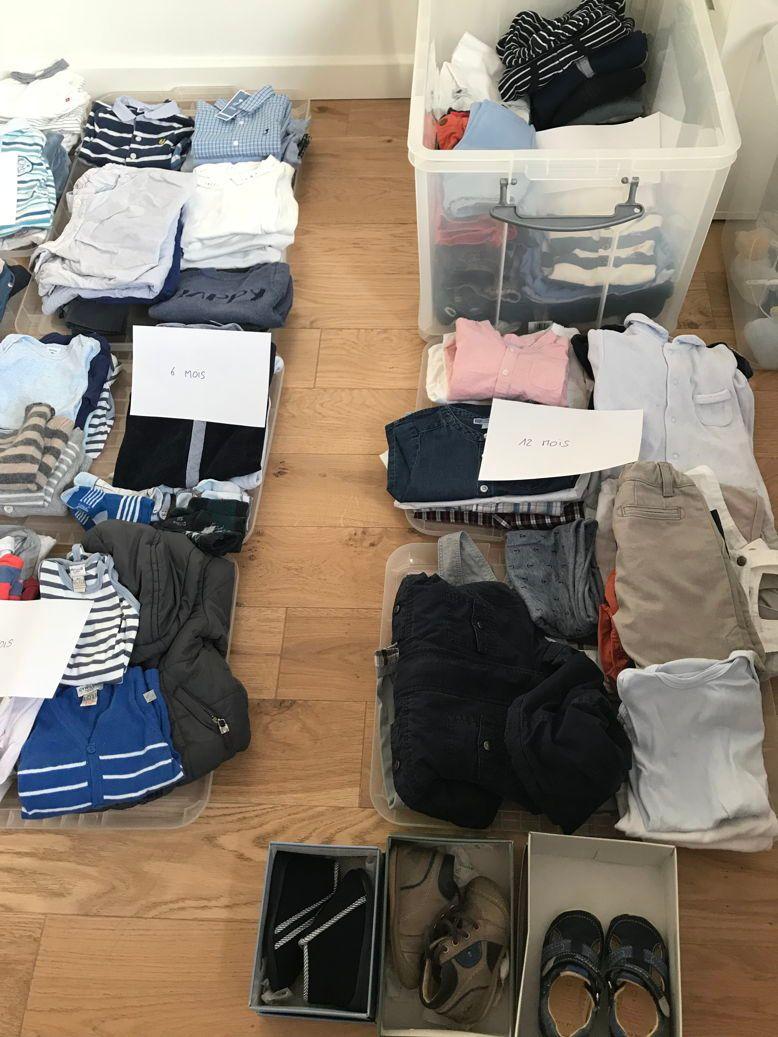 Vends des vêtements 1-18mois garçon en excellent état