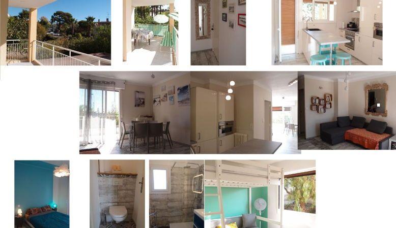 Loue maison - Sanary-sur Mer - 6places, terrasse 19m² - proche plage et centre