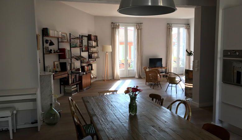 Loue appartement de standing 3chambres à Beaulieu sur mer
