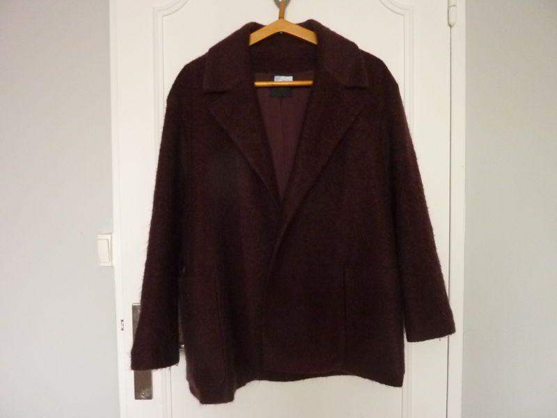 Vends Veste femme laine et mohair - taille L