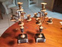 Paire de chandeliers Napoléon III