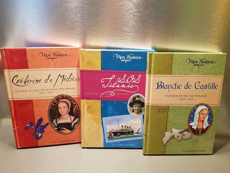 Vends 6livres Collection Mon Histoire Gallimard Jeunesse