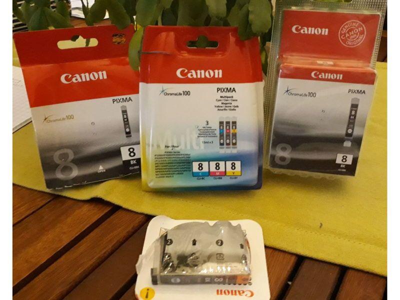 Lot cartouches encre Canon Pixma séries NEUF