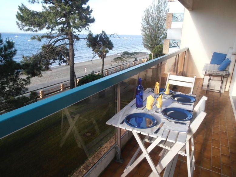 Loue bel appartement, direct plage - Vue magnifique - 4couchages, Arcachon
