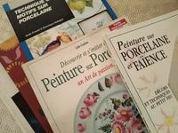 Donne livres de peinture sur porcelaine