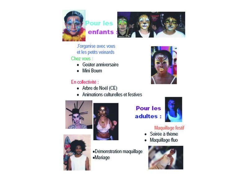 Animation Anniversaire et Maquillage Enfants
