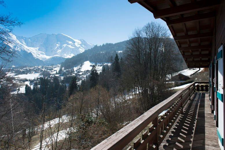 Loue grand chalet, 18 couchages, Saint Gervais face Mont Blanc