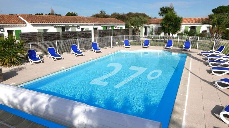 Loue île de Ré maison ensoleillée /4Pers/ piscine chauffée dès avril