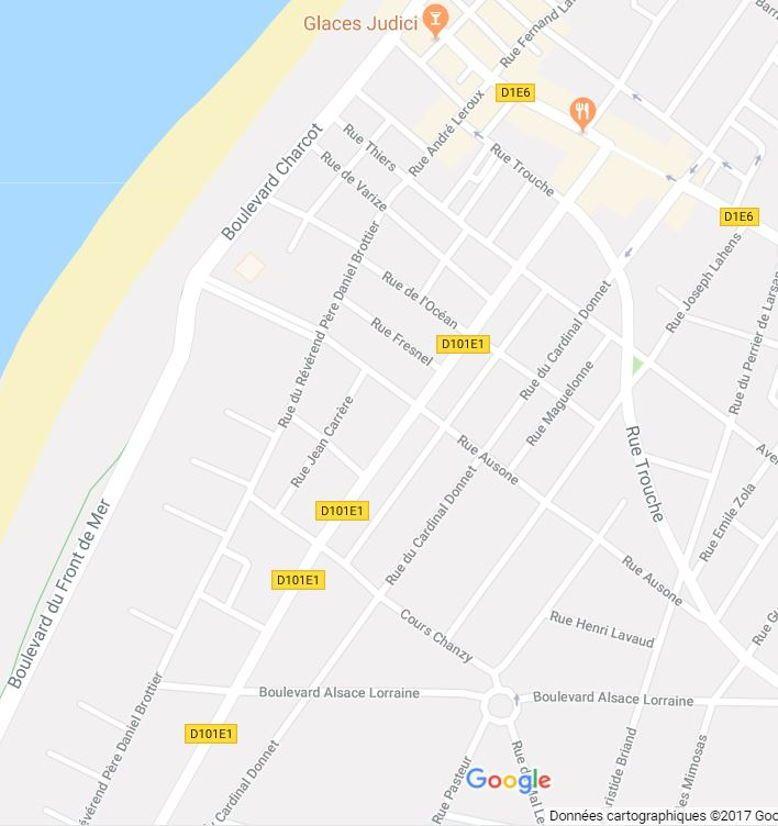 Cherche location maison centre Soulac sur mer, Gironde 17-26Août