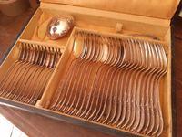 Ménagère métal argenté