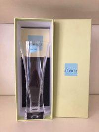 Vends vase neuf Cristal de Sèvres