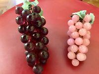 Vends grappes de raisin en pierre