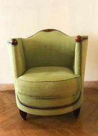 Vends paire de fauteuils Art Déco