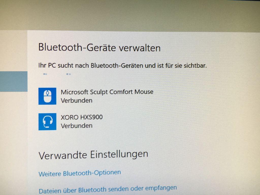Windows 10 und Bluetooth Lautsprecher
