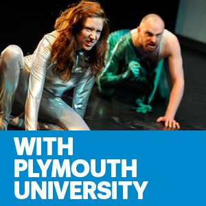 Ruth Milne and Jess Cargill BA (Hons) Theatre and Performance student