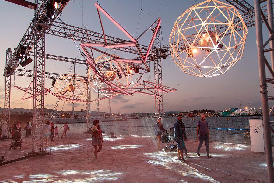 Festival de arte, luz y tecnología en Ibiza