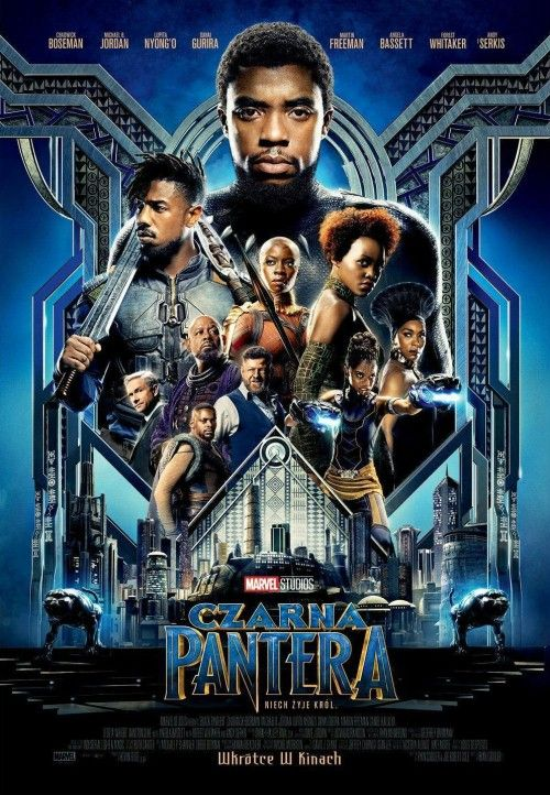 Czarna Pantera / Black Panther (2018) PLDUB.PAL.DVDR-LLA  / DUBBING PL