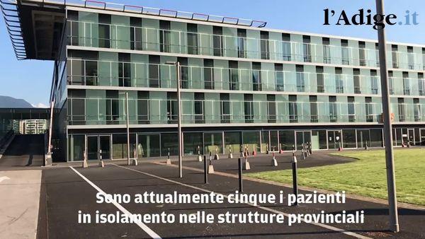 I dati Covid in Alto Adige: ricoveri in crescita