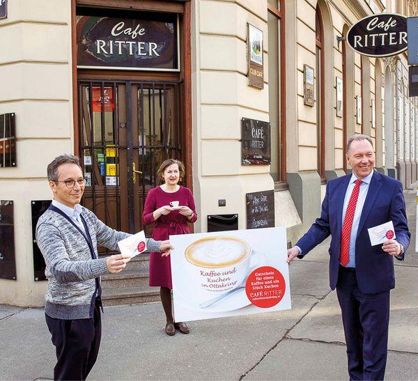 Ottakring: Öffnung schon nach Ostern? Bezirksprominenz versucht dem Café Ritter zu helfen - Wiener Bezirksblatt