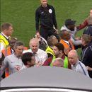 Инцидент на Стемфорд Бриџ, Ридигер рипна да се тепа со членови на Барнли и направи мешаница пред тунелот