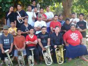 Maopa Royal King of Tonga brass band