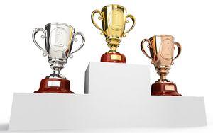 Podium prizes