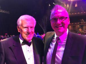Ian Stoutzker with Ian Porthouse