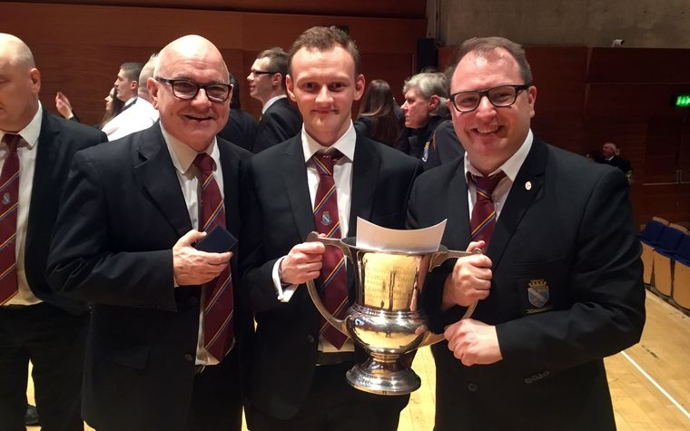 Whitburn with cup