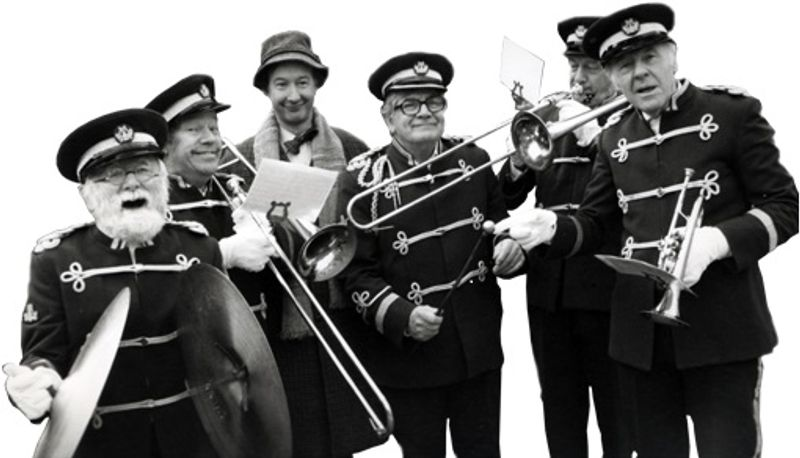 O Happy Band!: Why mixing brass bands and political satire may never be a success