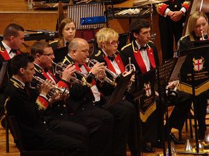 Black Dyke performing at the 2012 English Nationals